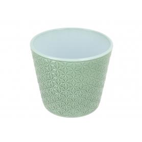 Osłonka ceramiczna  ZIELONA SZAŁWIA 480 48015/154