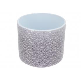 Ceramiczna osłonka cylinder Pirelli 16cm szary lazur 984150