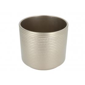 Ceramiczna osłonka cylinder calla  szampan 991004