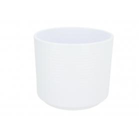 Ceramiczna osłonka cylinder calla  biała mat 991095