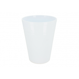 Ceramiczna osłonka storczyk  biała 82322