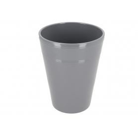 Ceramiczna osłonka storczyk jasny grafit 82274