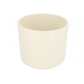 Ceramiczna osłonka cylinder calla  krem 991023
