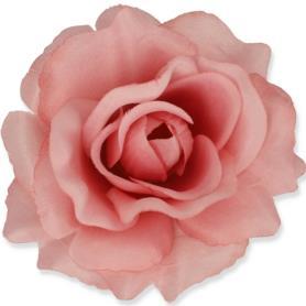 Kwiaty sztuczne róża wyrobowa mix 96 szt 53384-lt hot pink 3349