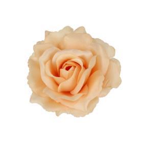 Kwiaty sztuczne róża wyrobowa mix 96 szt 53384--beige