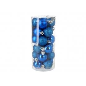 Bożonarodzeniowa bombka 3cm 0324sapphire
