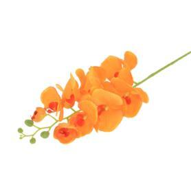 Kwiaty sztuczne storczyk pojedynczy 100 50104-orange ZB008