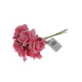 Kwiaty sztuczne: pik pianka 50193-PINK CST1288  5907464004443