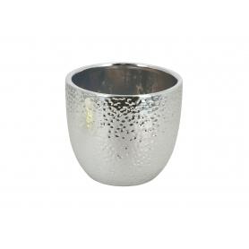 Ceramiczna osłonka srebrna mała 005019