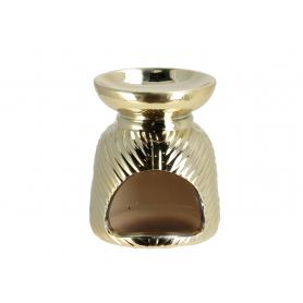 Ceramiczny kominek złoty 11380