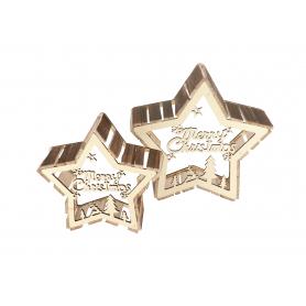 Zawieszka dekoracyjna Gwiazda 181140