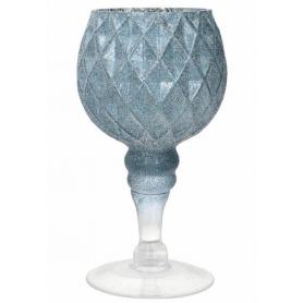 Szklany świecznik  19903