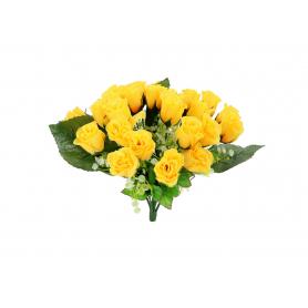 Kwiaty sztuczne bukiet róż 35cm