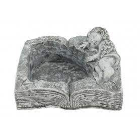 Gipsowa ikebana książka Anioł 81340 8134