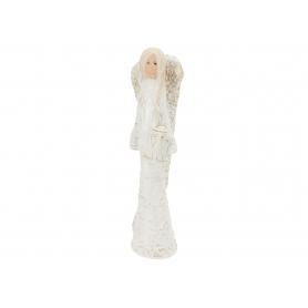 Ceramiczny anioł Koronka mały 08064