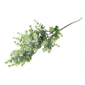 Gałązka zielona brokat 55926