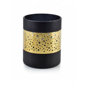 Świecznik RITA BLACK 10x12,5cm HTID1094