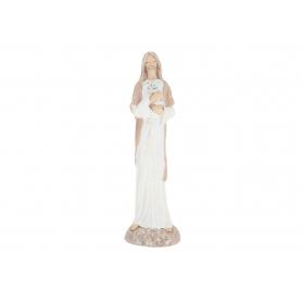 Ceramiczna figurka Jezus z owieczką 193