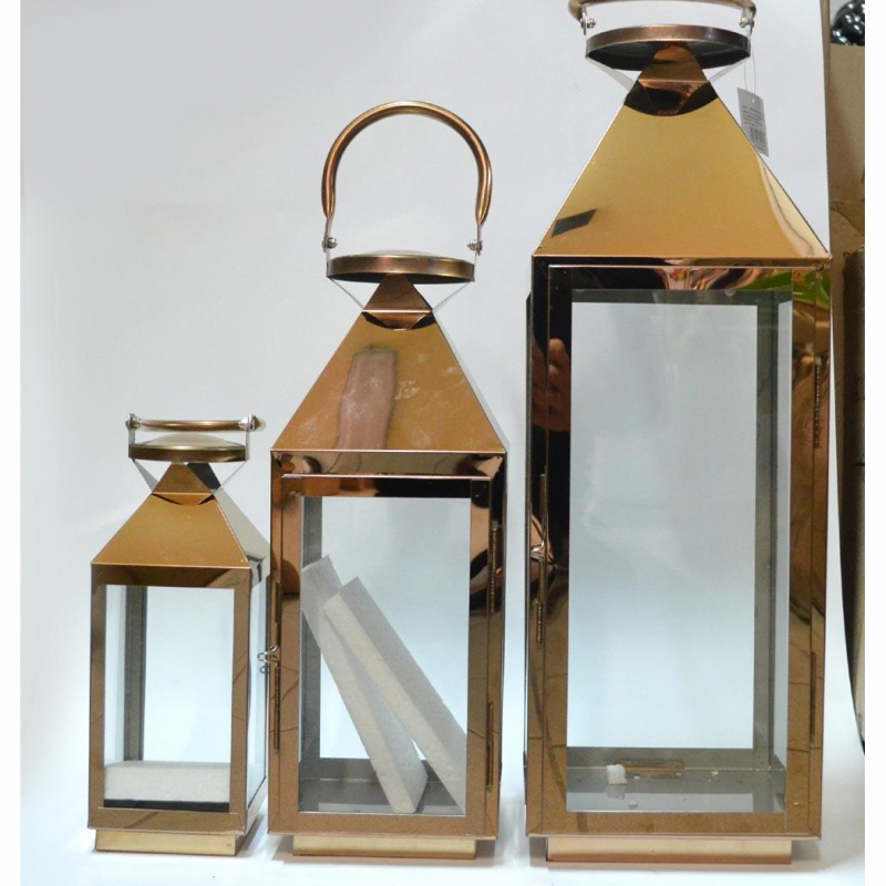 Metalowa latarnia LRS04