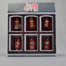 Szkło zestaw 6 kieliszków RED LIGHT