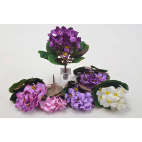 FIOŁEK (bukiet)-Kwiaty sztuczne