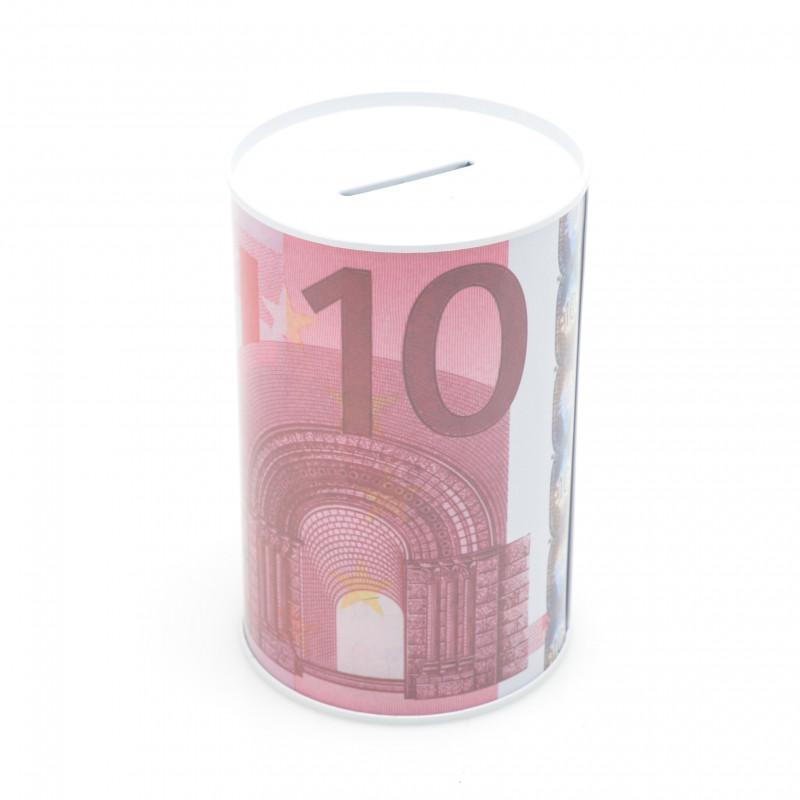 SKARBONKA USD/ EURO (metalowa)