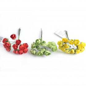 Kwiaty sztuczne różyczki