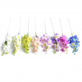 Kwiaty sztuczne ostróżka 45cm
