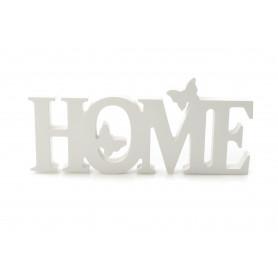 HOME (drewniany napis)