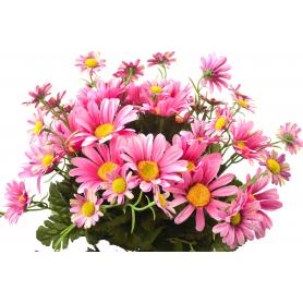 Kwiaty sztuczne bukiet rumianków