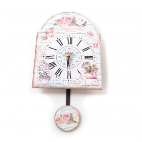 Zegar dekoracyjny 20x27cm, mix