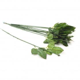 Kwiaty sztuczne łodyga róży 60cm