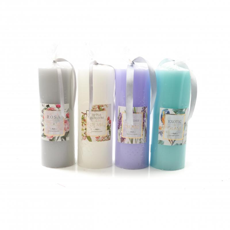 Świeca parafinowa Glass walec duży 19x7 zapachowa