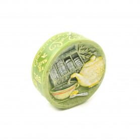 Świeca Zielona Herbata Dysk 11,5x4cm