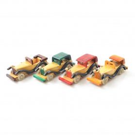 Drewniany samochód 8` 7,5x20x7cm