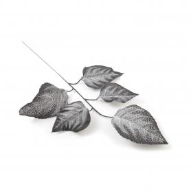 Kwiat sztuczny liść 55x30cm, 12 sztuk