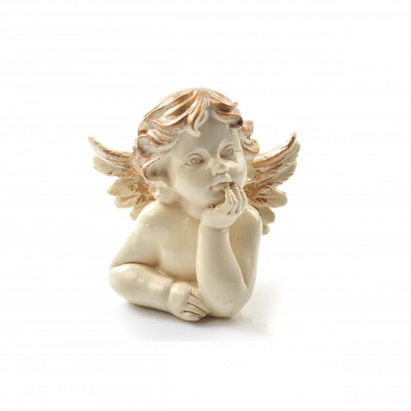 Tw.sztuczne anioł złocony popiersie