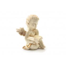Tw.sztuczne anioł złocony z książką