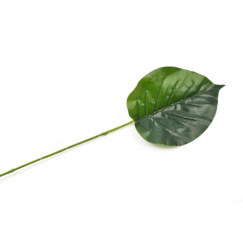 Kwiaty sztuczne liść 20x13cm, 12/144