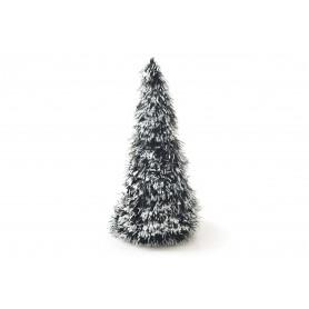 Bożonarodzeniowa choinka zielona, biała