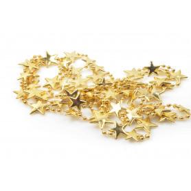 Bożonarodzeniowy łańcuch gwiazdki 196cm