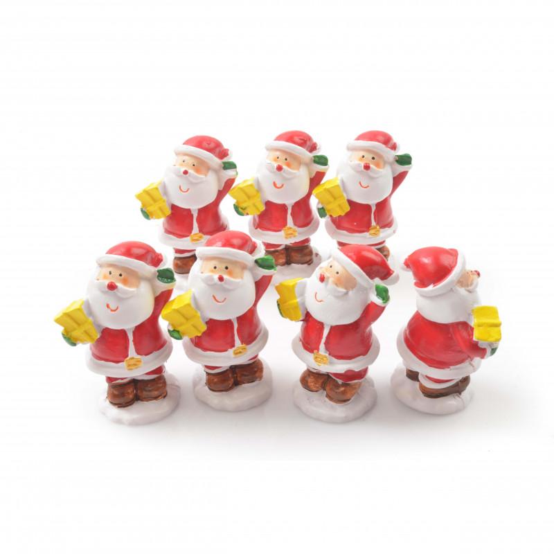 Bożonarodzeniowa figurka mikołaja 6cm