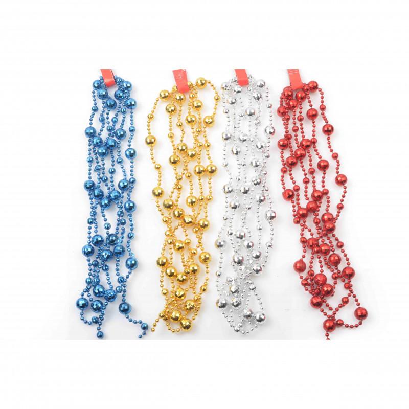 Bożonarodzeniowy łańcuch KULECZKI 196cm