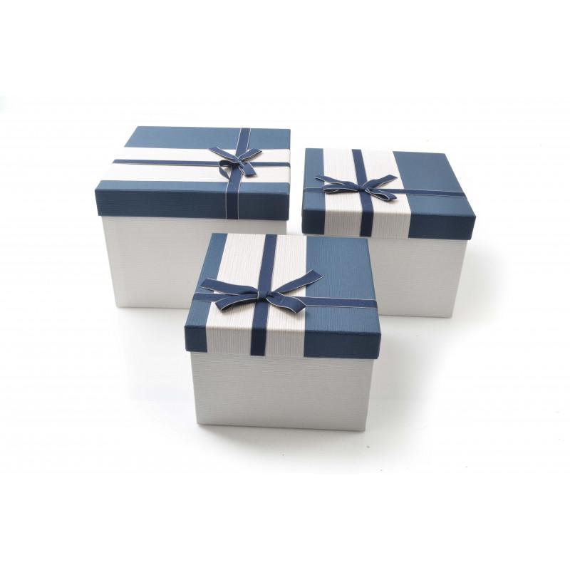 Papier- FLOWER BOX pudełka kwadraty