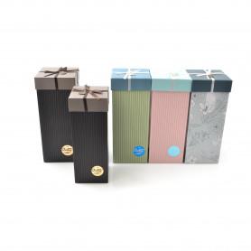 Papier- FLOWER BOX wysoki CUKIERKOWY