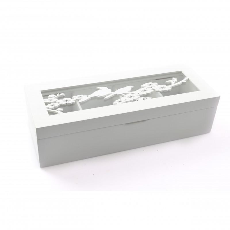 Drewniane pudełko 31x12x8cm