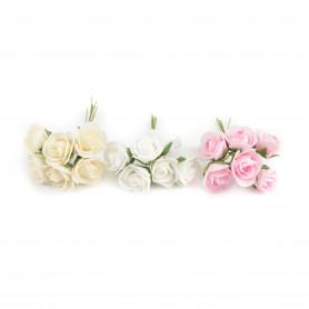 Kwiaty sztuczne bukiet róży