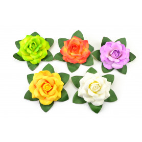 Искусственные цветы: плавающая роза
