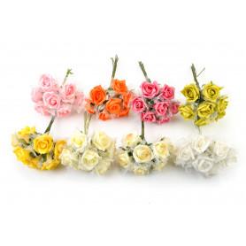 RÓŻYCZKA PIANKOWA-Kwiaty sztuczne