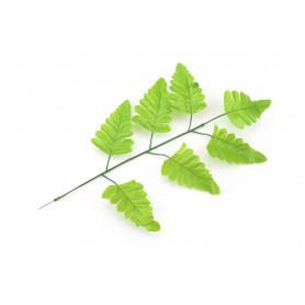 Искусственный цветок: листья папоротника